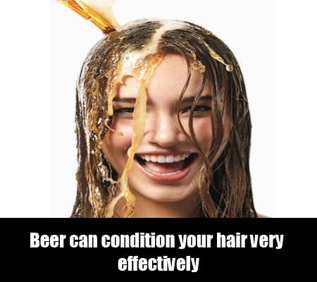 Beer Conditioner for hair